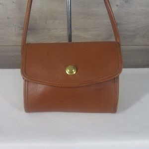Vintage Coach Chrystie 9892 Tan Crossbody Bag